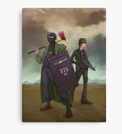 Post Apocalyptic Canvas Print