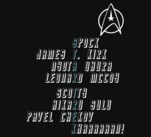 Star Trek Crew (Dark) by atlwildguy