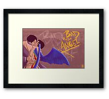 Bad, Bad Angel (Original Version) Framed Print