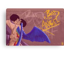 Bad, Bad Angel (Original Version) Canvas Print