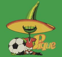 Mexico 86 World Cup Pique Mascot by AlexVentura