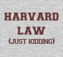 Harvard Law Just Kidding by Connie Yu