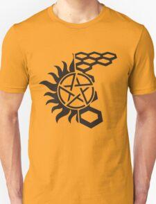 SuperWood Tee - Black Logo Unisex T-Shirt