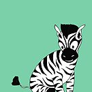 ZEBRA by AnishaCreations