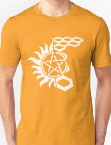 SuperWood Tee - White Logo Unisex T-Shirt