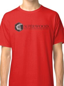 SuperWood 21st Century Tee - Black Logo Classic T-Shirt