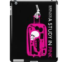 Sherlock - A Study in Pink Episode Poster iPad Case/Skin