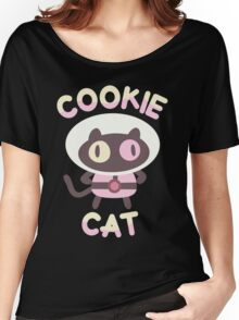 Cookie Cat Women's Relaxed Fit T-Shirt