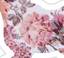 Floral Unicorn 1 Sticker