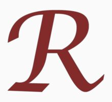 "Calligraphy Letter ""R"" by Richard Heby"