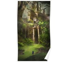 Legend of Zelda Forest Temple Poster