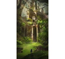 Legend of Zelda Forest Temple Photographic Print