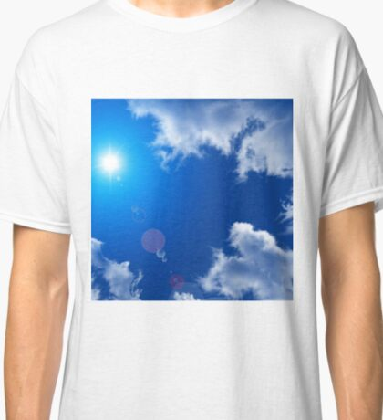 SUN SKY AND CLOUDS Classic T-Shirt