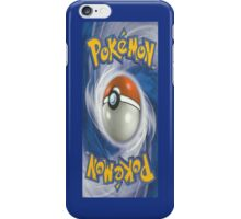 Pokemon Trading Card Iphone Case iPhone Case/Skin