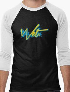 Wet. Gamma Edition Men's Baseball ¾ T-Shirt