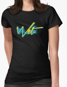 Wet. Gamma Edition Womens Fitted T-Shirt