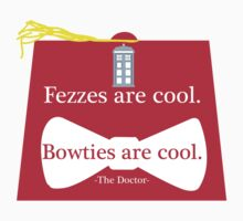 The Doctor and his Fez by Hollywoodxo13