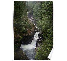 Upper Twin Falls - Snoqualmie N.F. Poster