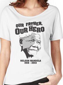 Nelson Mandela Tribute Shirt Women's Relaxed Fit T-Shirt