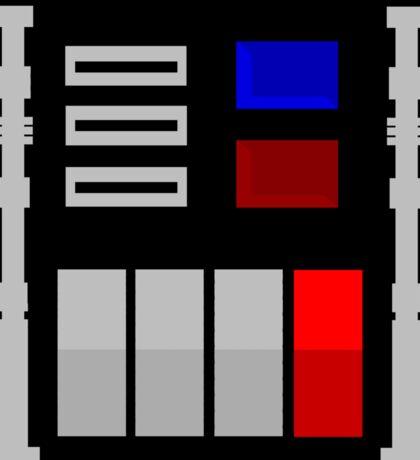 Darth Vader's Chest Panel Sticker