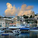 Santa Maria Church Mgarr Harbour -- Gozo  by Edwin  Catania