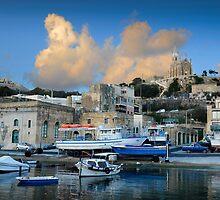 Santa Maria Church Mgarr Harbour -- Gozo  by Edwin  Catania