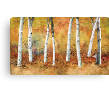 Snail in the Park Poster Canvas Print