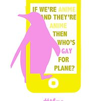 Nagisa || Gay for Plane by findingschmomo