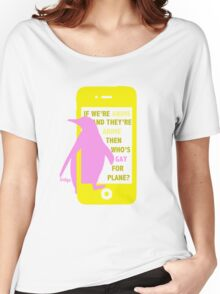 Nagisa || Gay for Plane Women's Relaxed Fit T-Shirt