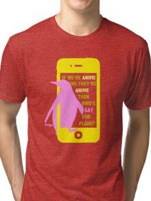 Nagisa || Gay for Plane Tri-blend T-Shirt