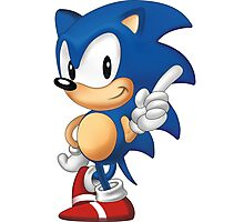 sonic the hedgehog Photographic Print