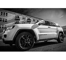 Jeep Grand Cherokee Photographic Print