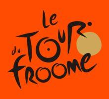 Le Tour du Froome (Black) Kids Tee