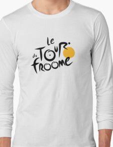 Le Tour du Froome (Black) Long Sleeve T-Shirt