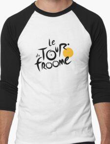 Le Tour du Froome (Black) Men's Baseball ¾ T-Shirt