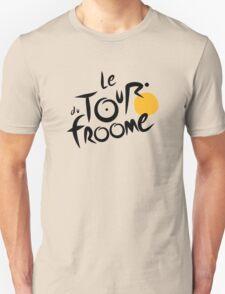 Le Tour du Froome (Black) Unisex T-Shirt