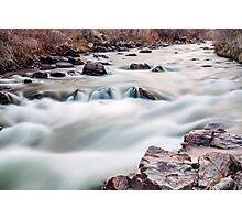 Rushing Waters Photographic Print