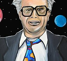 Will Ferrell as Harry Caray SNL by portraitsonthep
