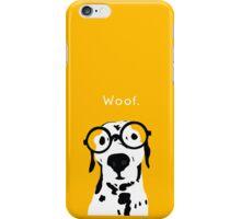 Snip the Dalmatian in Orange iPhone Case/Skin