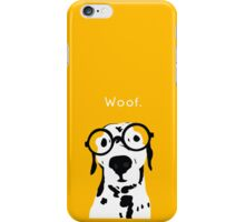 Snip the Dalmatian in Orange iPhone Case/Skin