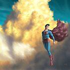 Retro Superman  by HauntedMarsh