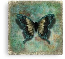 Turquoise Wings Canvas Print