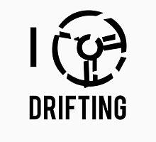 I Logo Drifting - Black Unisex T-Shirt