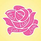 Kiss Kiss Fall in Love by Shabnam Salek