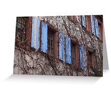 Windows of Alsace Greeting Card