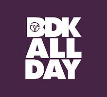 BDK All Day - White Unisex T-Shirt