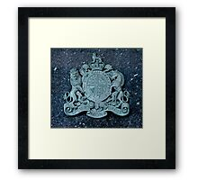 Royal Coat of Arms of the United Kingdom Framed Print