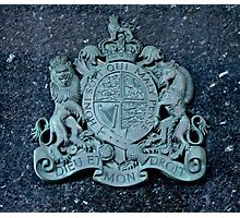 Royal Coat of Arms of the United Kingdom Photographic Print