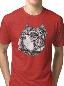 Ornate American Bully Tri-blend T-Shirt