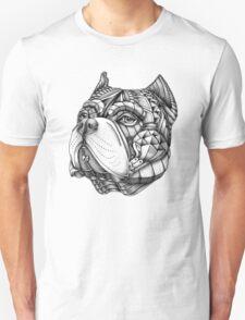 Ornate American Bully Unisex T-Shirt